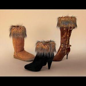 Accessories - Faux Fur Boot Topper